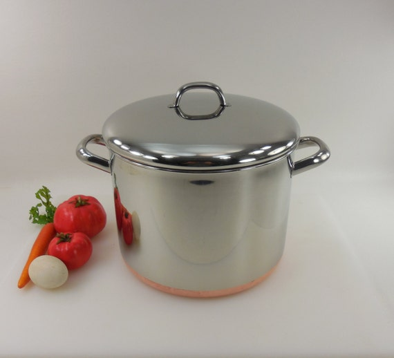 Revere Ware 10 Quart Stock Pot 1991 Clinton Ill By