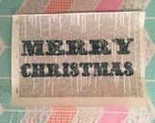 merry christmas print. old dictionary. christmas print. believe. christmas.