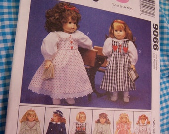 mccalls doll clothes pattern 9066