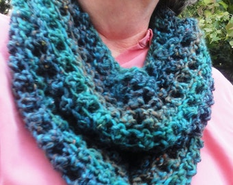 Whip It Up Quick Scarf Knitting PDF Pattern