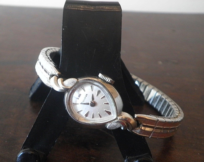 vintage bulova white gold 21 jewels by