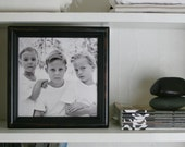 Bookshelf Picture Frame /  Solid Wood