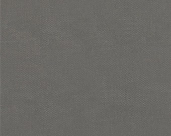 Charcoal Grey Washable Yarn Dyed Linen, Brussels Washer Linen Collection By Robert Kaufman