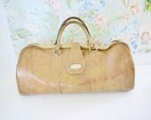 Vinyl Leather Travel Luggage