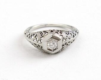 Vintage Diamond Ring  eBay