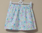 READY TO SHIP: Easter Egg Pastel Skirt, Size 6