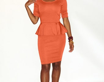 Bree Peplum Dress
