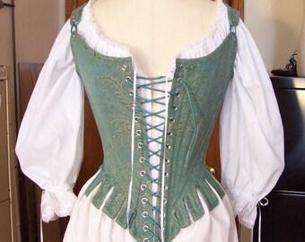 Reproduction 1770s Stays (18th Century Corset) - Custom order