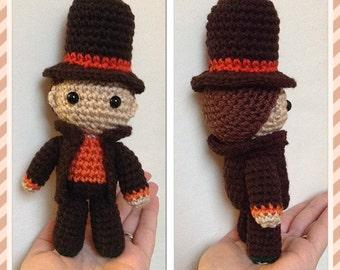 Amaze-ing Professor Layton-Inspired Doll - Made to Order