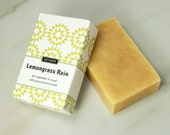 Lemongrass Rain All Vegetable Oil Soap