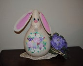 Beatrice Bunny Gourd Easter Table Decoration