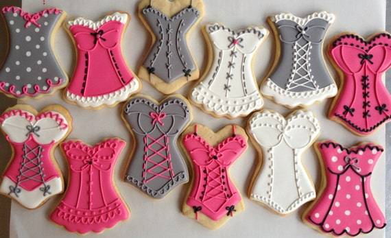 Lingerie Sugar Cookies