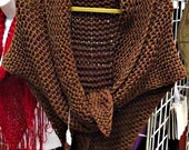 Claire's Outlander Shawl Hand Knitting Pattern **Only** for Claire's Outlander Shawl Pattern, Triangle Shawl, Wrap Winter Clothing