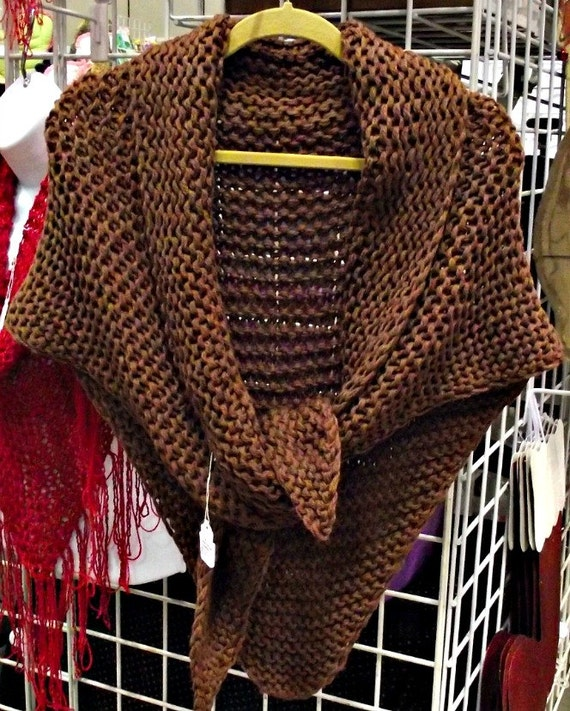 Knitting Pattern For Outlander Shawl : Claires Outlander Shawl Hand Knitting Pattern Only