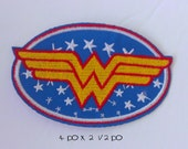 wonderwoman embroided / iron on patch