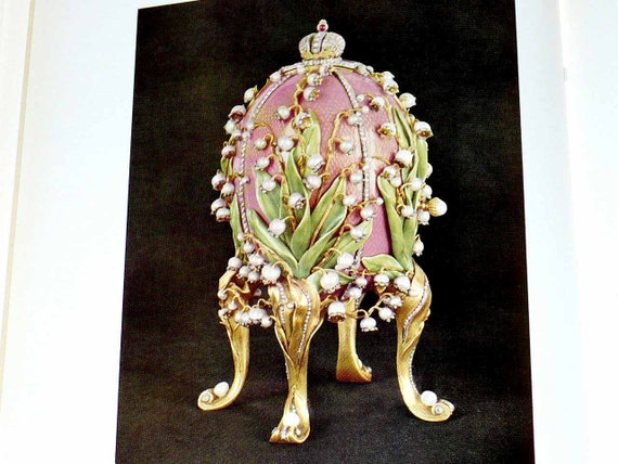 Vintage Book Art Jeweller Goldsmith Peter Carl Faberge, Russian Imperial court 1966