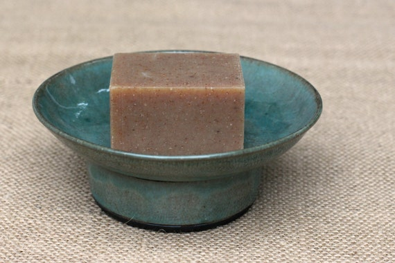 Soap Dish- Teal
