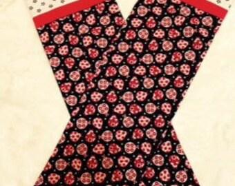 Standard Size Ladybug Pillowcase