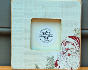 Santa Christmas Picture Frame