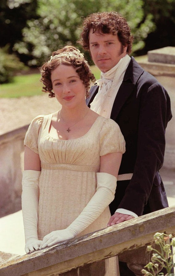 Regency Dress. Jane Austen. CUSTOM. Lizzy P+P. Silk Netherfield Ball Gown. Wedding.