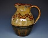 Ceramic Pitcher Pottery Stoneware Ice Tea Pitcher