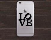 Love Vinyl iPhone Decal BAS-0216