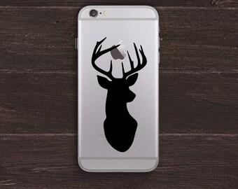 Deer Stag Vinyl iPhone Decal BAS-0208