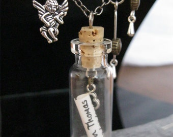 Little John's Memory Bottle Necklaces