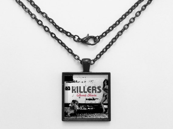 The Killers - Sam's Town Album Cover Necklace OR Keychain