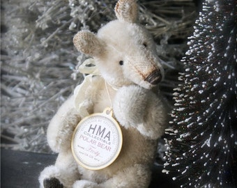 Sewing Pattern for little Polar bear Snowy.
