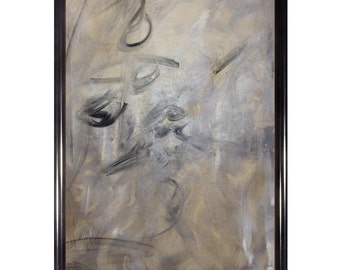"""Original Abstract Lusterstone Art - """"Indiferencia"""""""