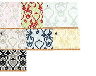 CUSTOM CURTAINS - One Pair of drapery panels in romantic, modern print