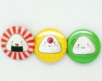 Onigiri buttons