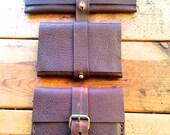 Halsey wallet, handmade leather wallet, travel document holder, handmade leather  passport wallets, cases and holders custom by Aixa Sobin