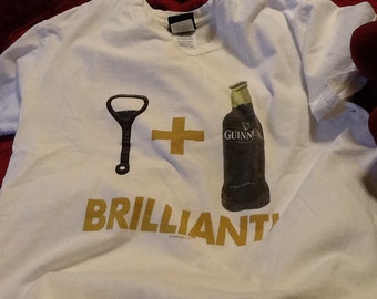 Vintage GUINNESS T Shirt Tshirt M Authentic Genuine