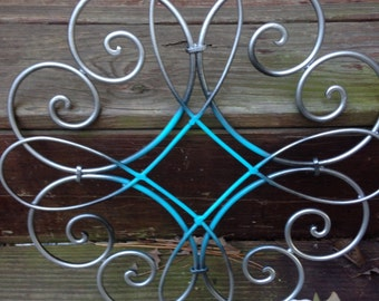 Shabby Chic Wall Decor, Metal Wall Decor