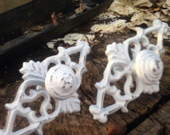 Drawer Pulls, Drawer Knobs, Shabby Chic Knobs - Set of 2