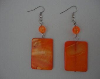 B'Oranged Earrings