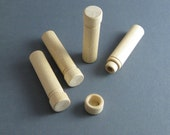 4 pcs., Wooden needle cases, needlecases