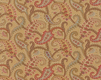 Atelier - Paisley in Chamois by 3 Sisters for Moda Fabrics