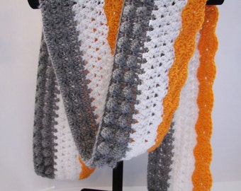 The Lexi Scarf // pdf crochet pattern // permission to sell finished objects // instant download