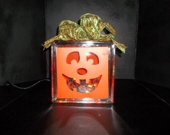 Halloween Lighted Present