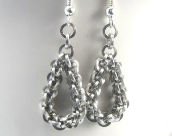 Tears of Nyx Chainmaille Earrings