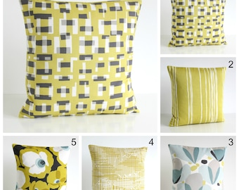 Pillow Cover, Decorative Cushion Cover, Modern Pillow Sham, Pillow Cover, Scandinavian Pillowcase - Golden Collection