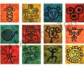 Taino Symbols Greeting Card