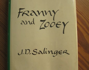 Franny and Zooey by JD SALINGER First Edition Hardcover 9th Printing