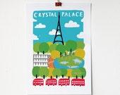 A4 Crystal Palace Print