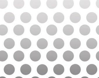 Color Ombre by Riley Blake Designs - Ombre Dots Gray (C310-40)  - 1 yard