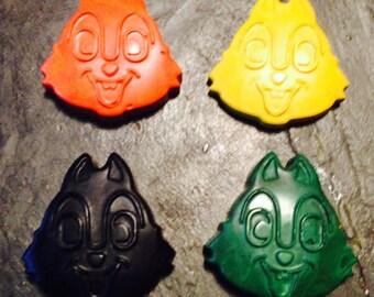 Chipmunk crayons