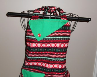 Ugly Christmas Sweater Women's Apron